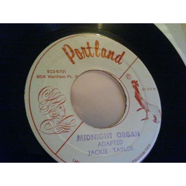 JACKIE TAYLOR / PORTLAND ALL STARS MIDNIGHT ORGAN / PORTLAND ROCK PT 2 ORIG.