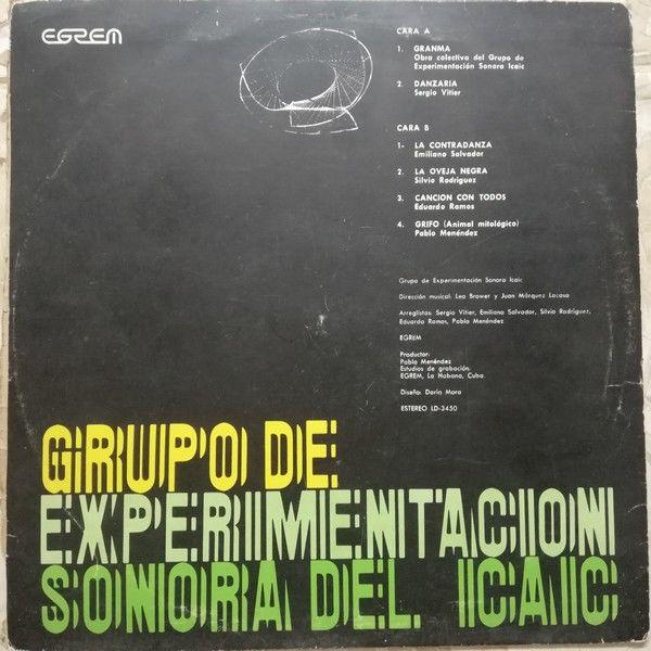 Grupo de Experimentacion Sonora de ICAIC Grupo de Experimentacion Sonora de ICAIC