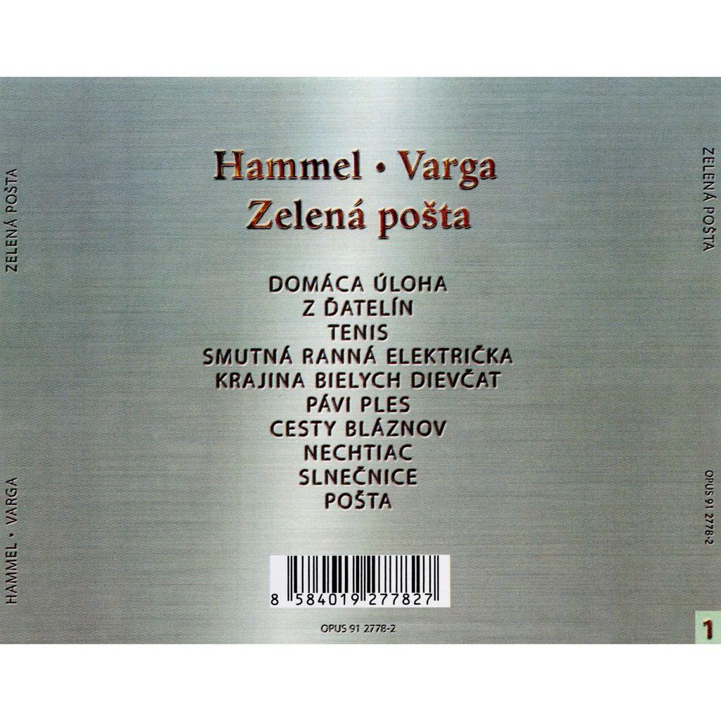 Hammel ● Varga Zelená Pošta