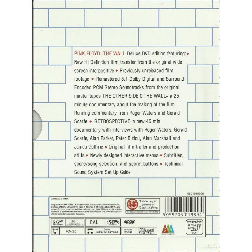 Pink Floyd The Wall (Digipak in slipcase) DVD