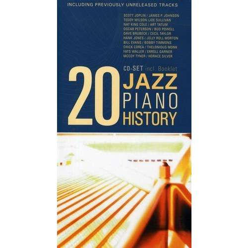 compilation 20 CD-Set Jazz Piano History