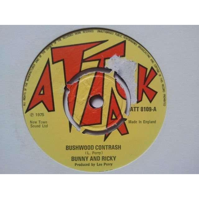 Bunny And Ricky / The Upsetters Bushwood Contrash (Bushweed & Corntrash) / Callying Butt ORIG.