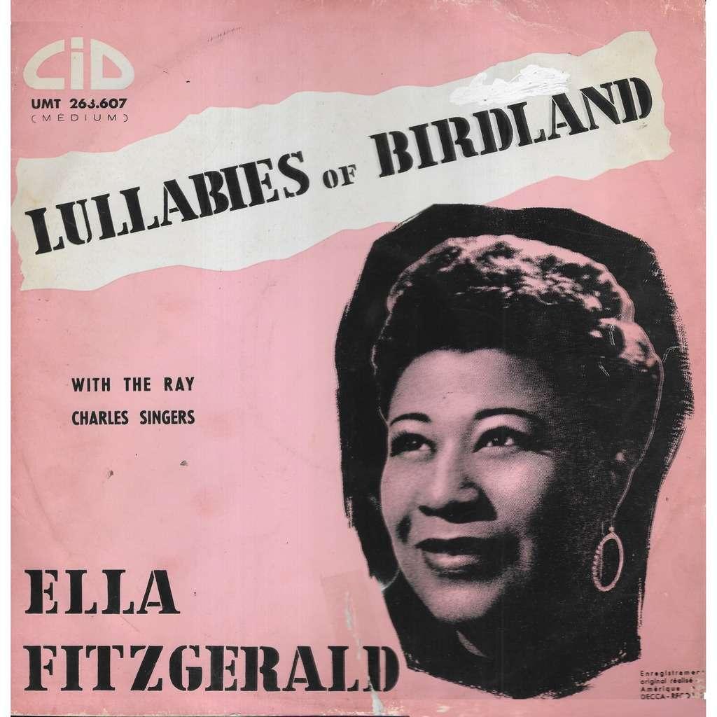 Ella FITZGERALD Lullabies of Birdland