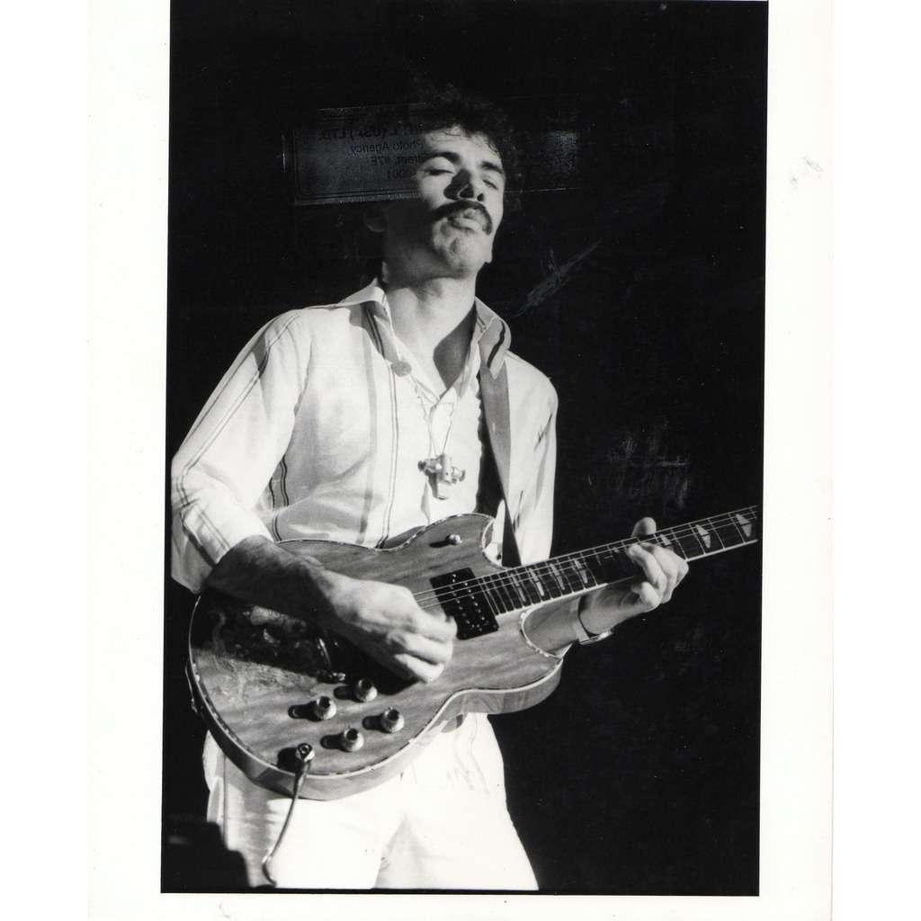 Santana Carlos Santana #3 (Usa 70s original 'London Features' promo photo by Paul Cox !!)