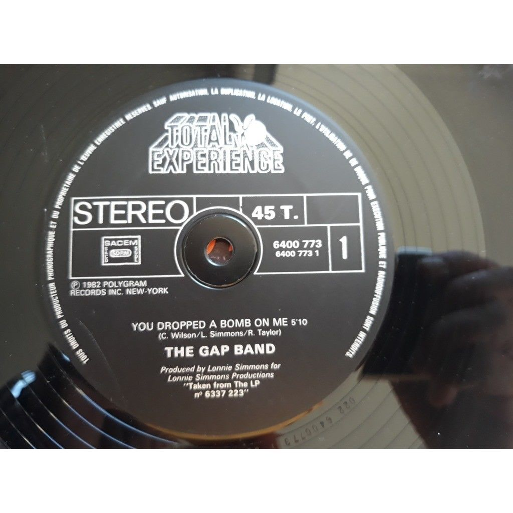 The Gap Band - You Dropped A Bomb On Me / Lonely L The Gap Band - You Dropped A Bomb On Me / Lonely Like Me (12)
