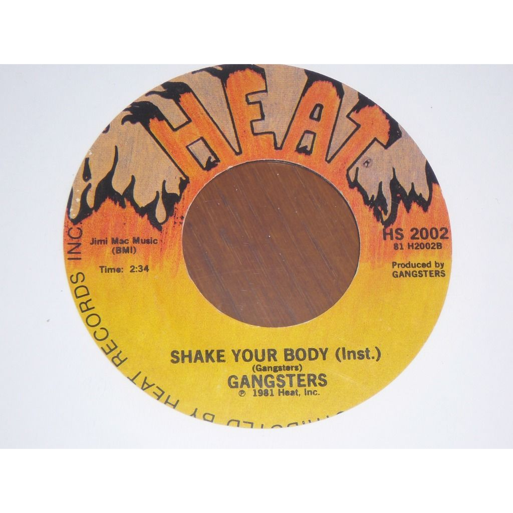 Gangsters Shake Your Body-Instrumental -