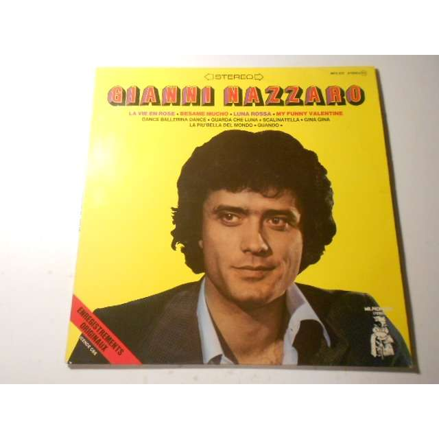 gianni nazzaro enregistrements originaux