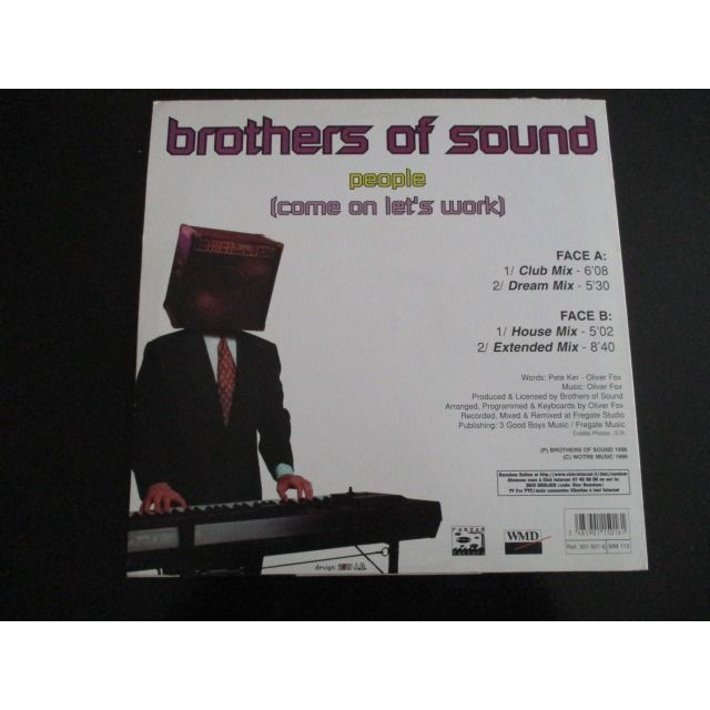 BROTHERS OF SOUND PEOPLE (Come On Let's Work)