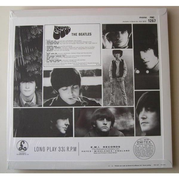 the beatles rubber soul (mono)