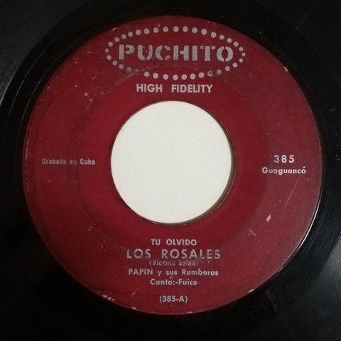 Papin y sus Rumberos Maria de la O(guaguanco)/Tu olvido los rosales(guaguanco)