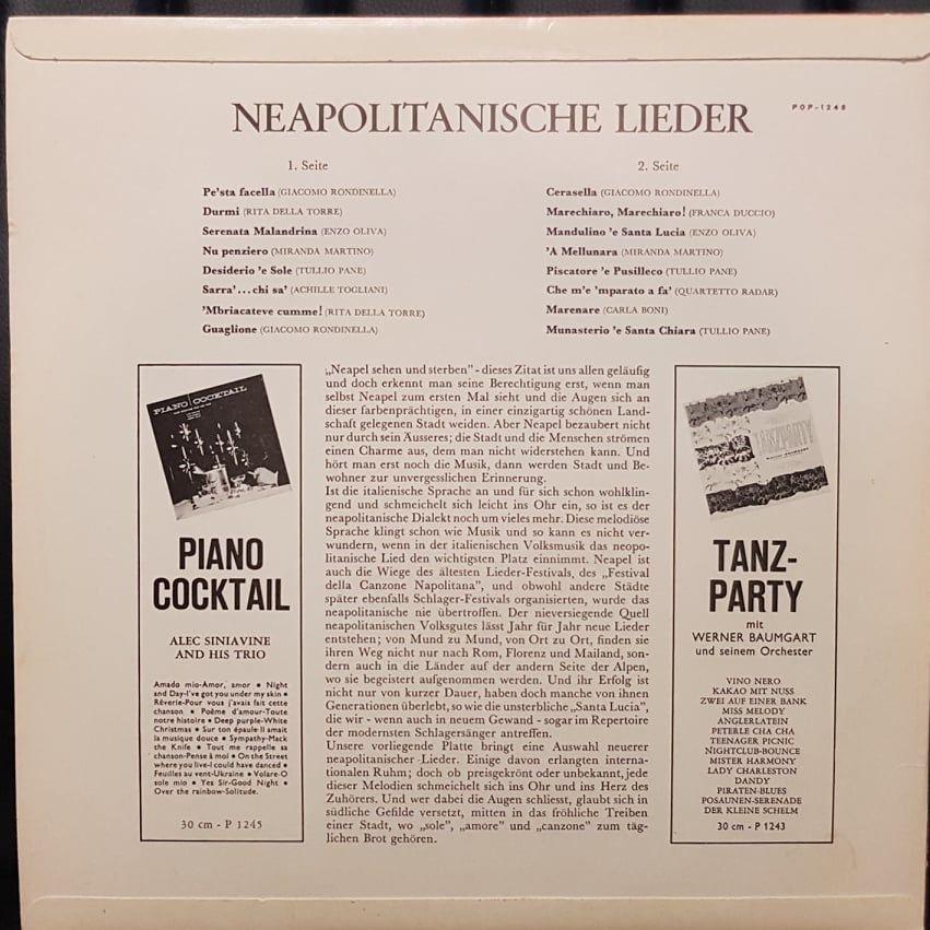Neapolitanische Lieder Naples Festival