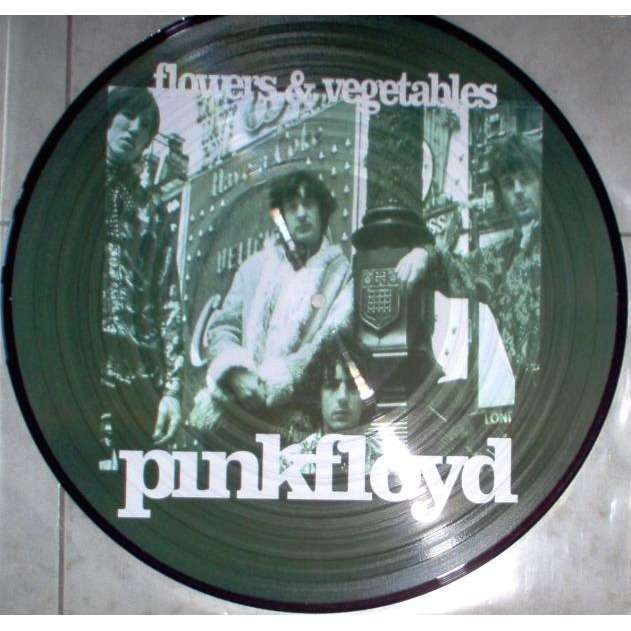 Pink Floyd Flowers & Vegetables (Sessions 1966/1967) (Ltd 13-trk live LP Picture Disc pvc slv)