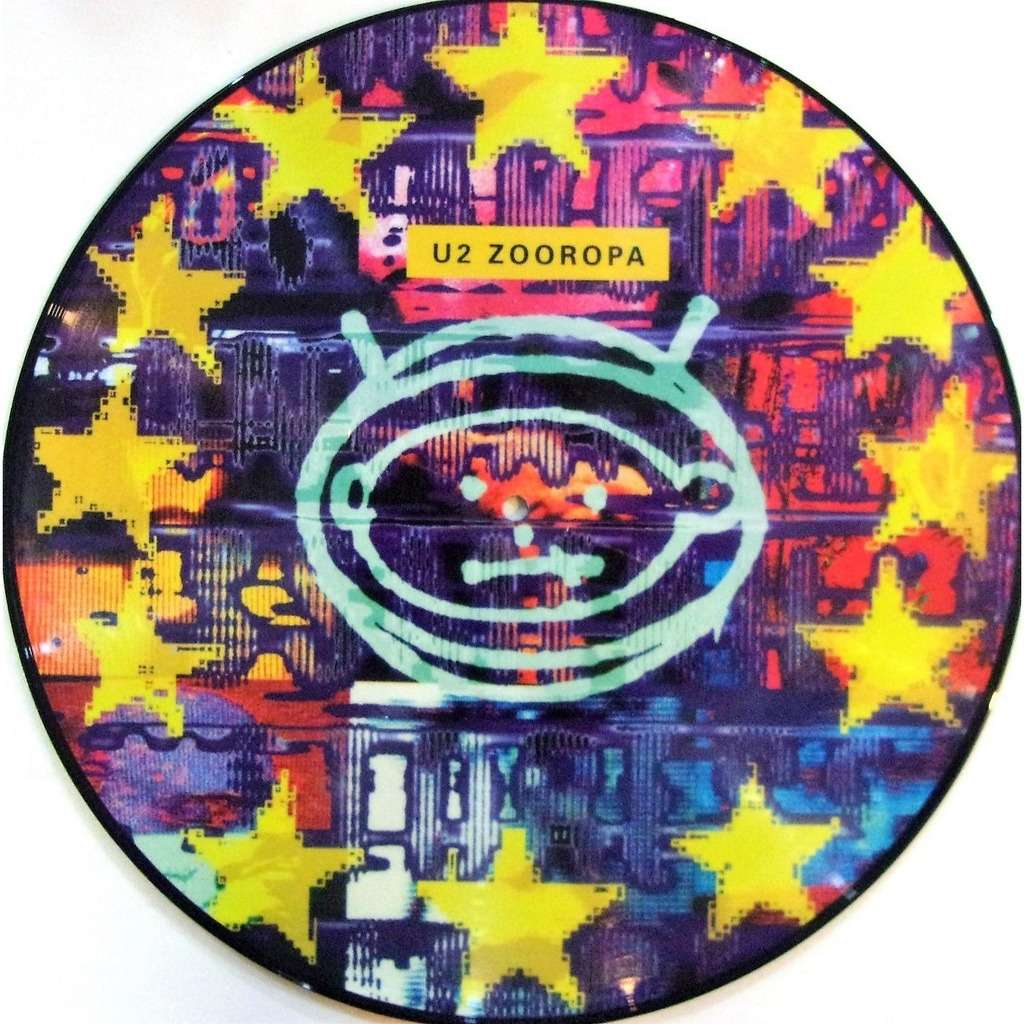 U2 Zooropa (Euro 2017 Ltd re 10-trk LP Picture Disc PVC slv!)