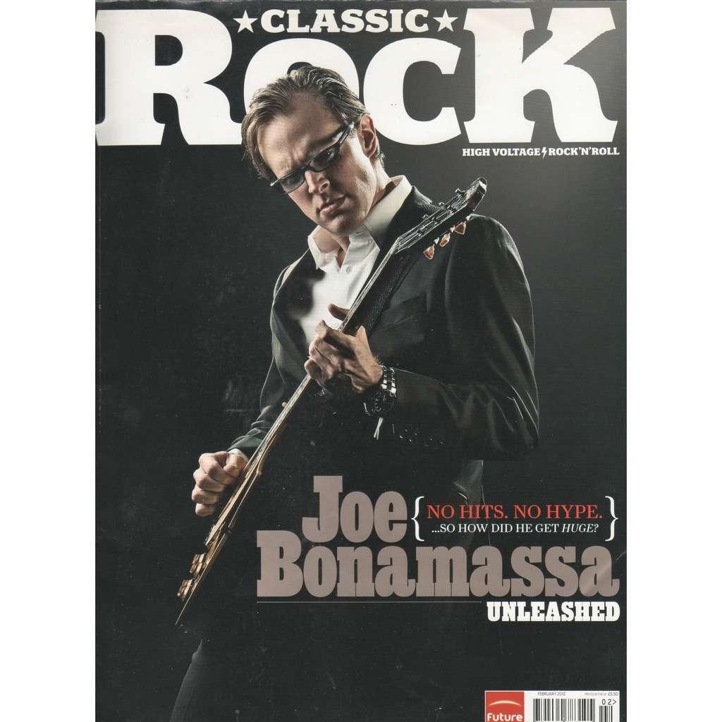 Joe Bonamassa Classic Rock (N.167 Feb. 2012) (UK 2012 Joe Bonamassa front cover music magazine!!)