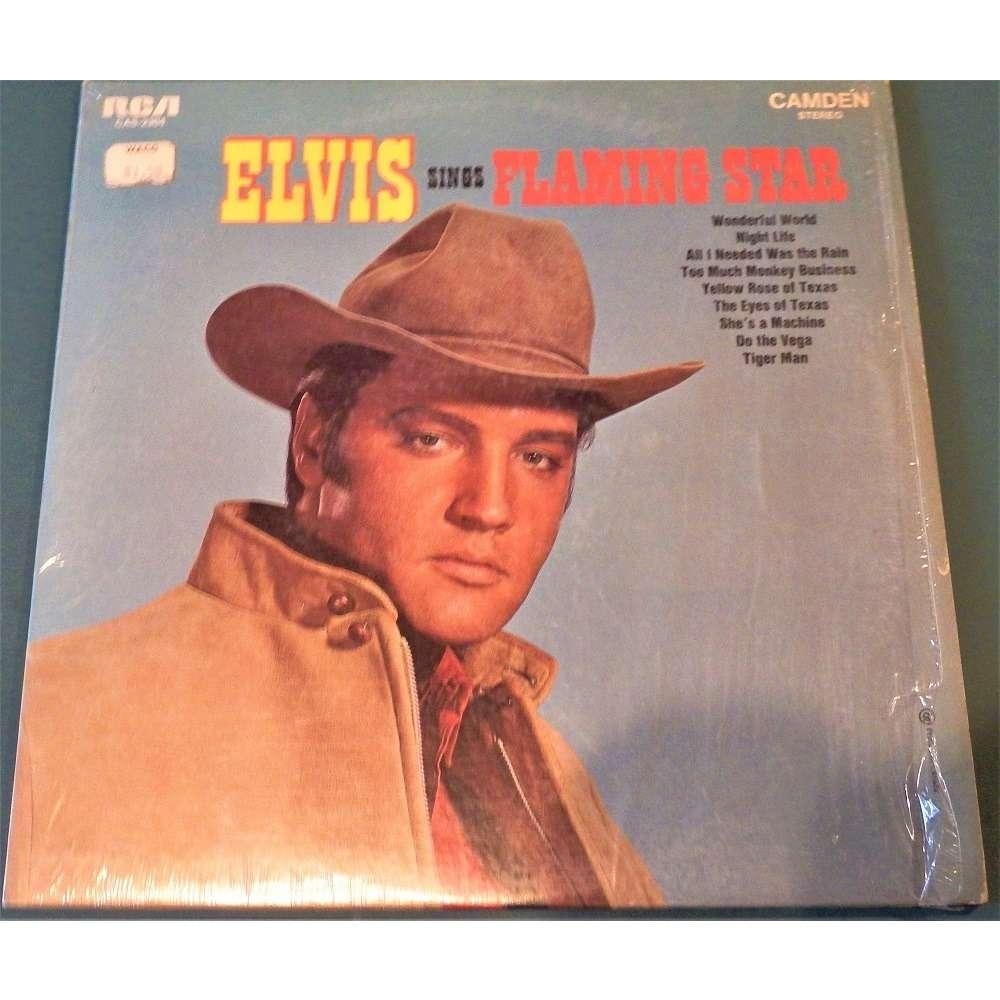 Elvis Presley ELVIS Sings FLAMING STAR-