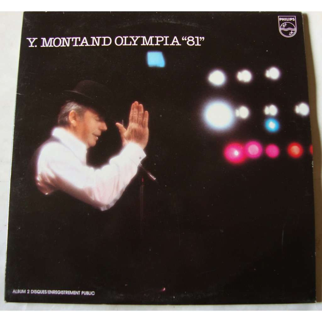 yves montand Olympia  81
