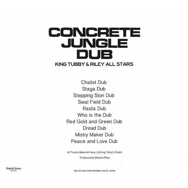 King Tubby Riley's All Stars Concrete Jungle Dub