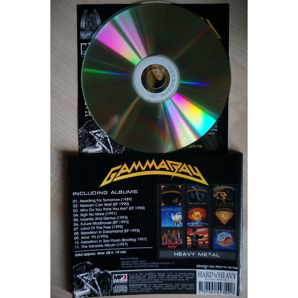 Gamma Ray MP3 Collection CD-1 (1989-1997)