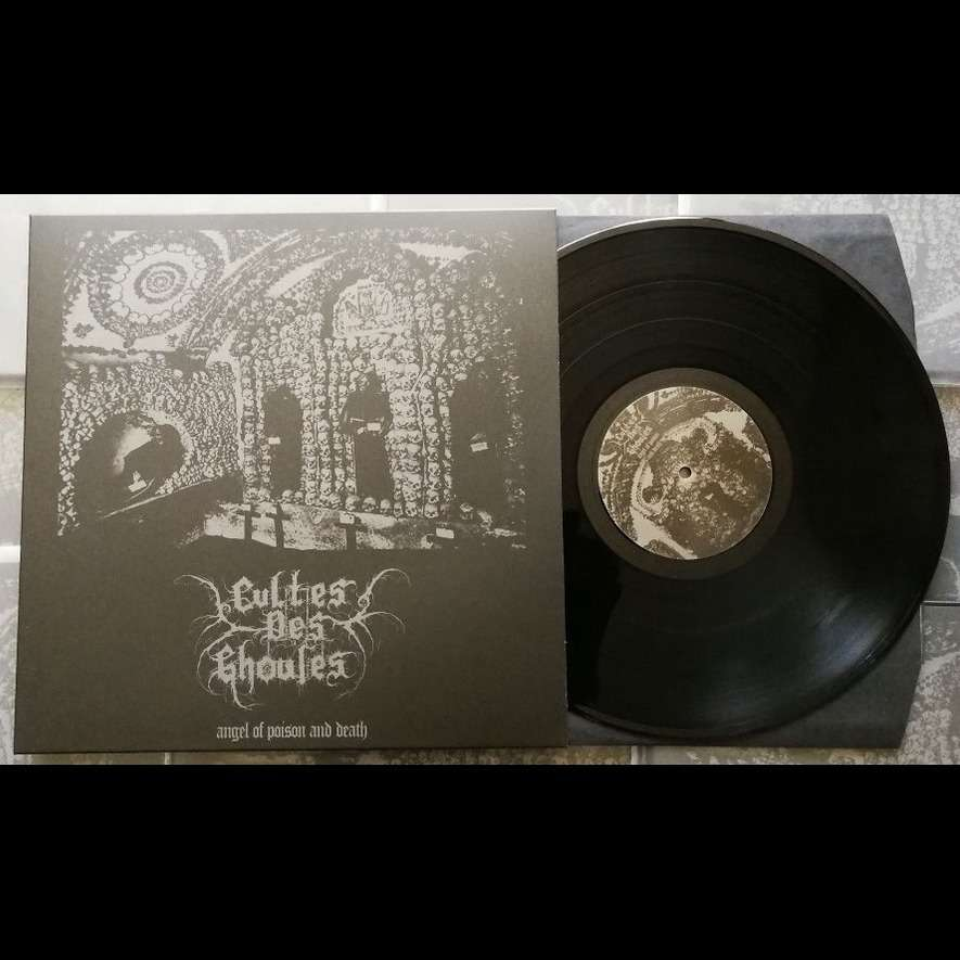 CULTES DES GHOULES Angel of Poison and Death. Black Vinyl