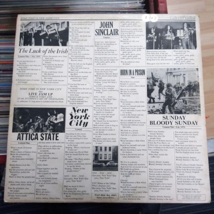 John LENNON /Yoko ONO SOME TIME IN NEW YORK CITY