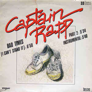 CAPTAIN RAPP bad times (i can't stand it) - 3mix (feat. Kimberly Ball)