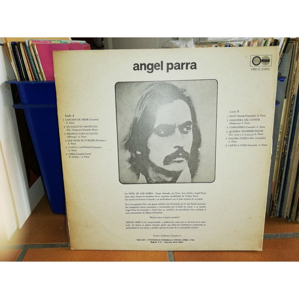 Angel Parra Canciones De Amor Y Muerte