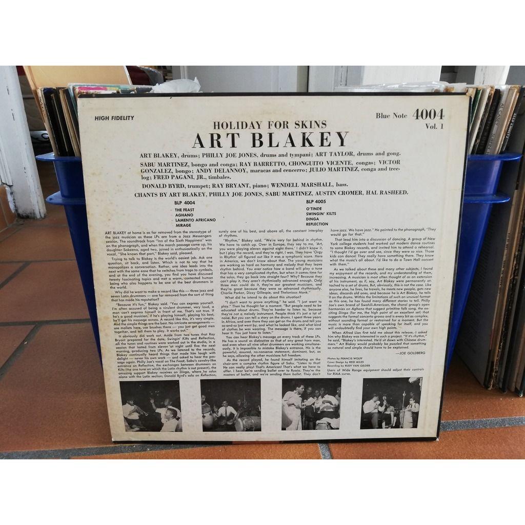 Art Blakey Holiday For Skins Volume 1