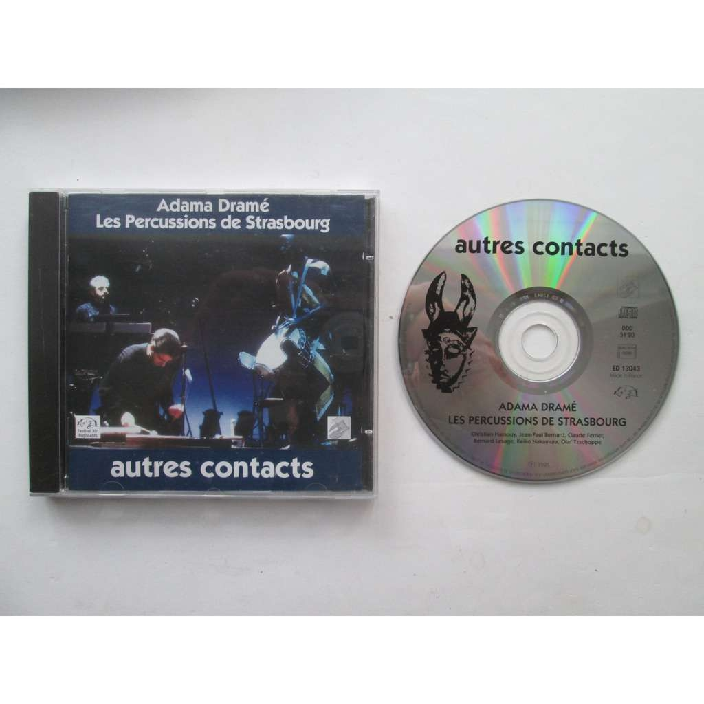 adam drame / percussions de Strasbourg autres contacts