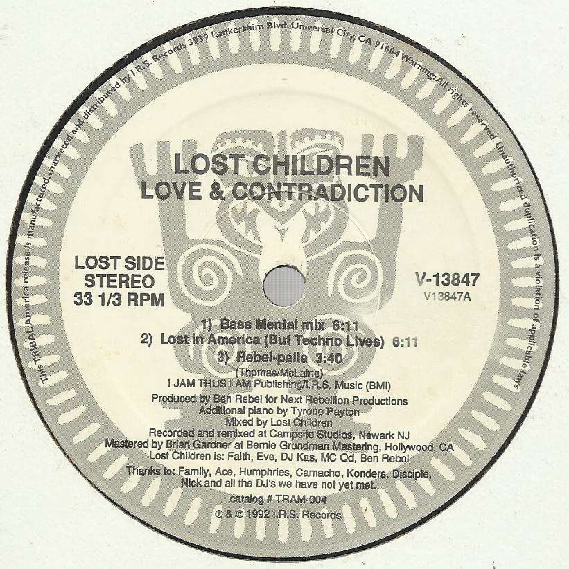LOST CHILDREN love & contradiction - 6mix