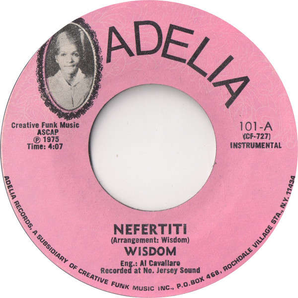 WISDOM Nefertiti (Instrumental) / what-cha-gonna-du-about-you