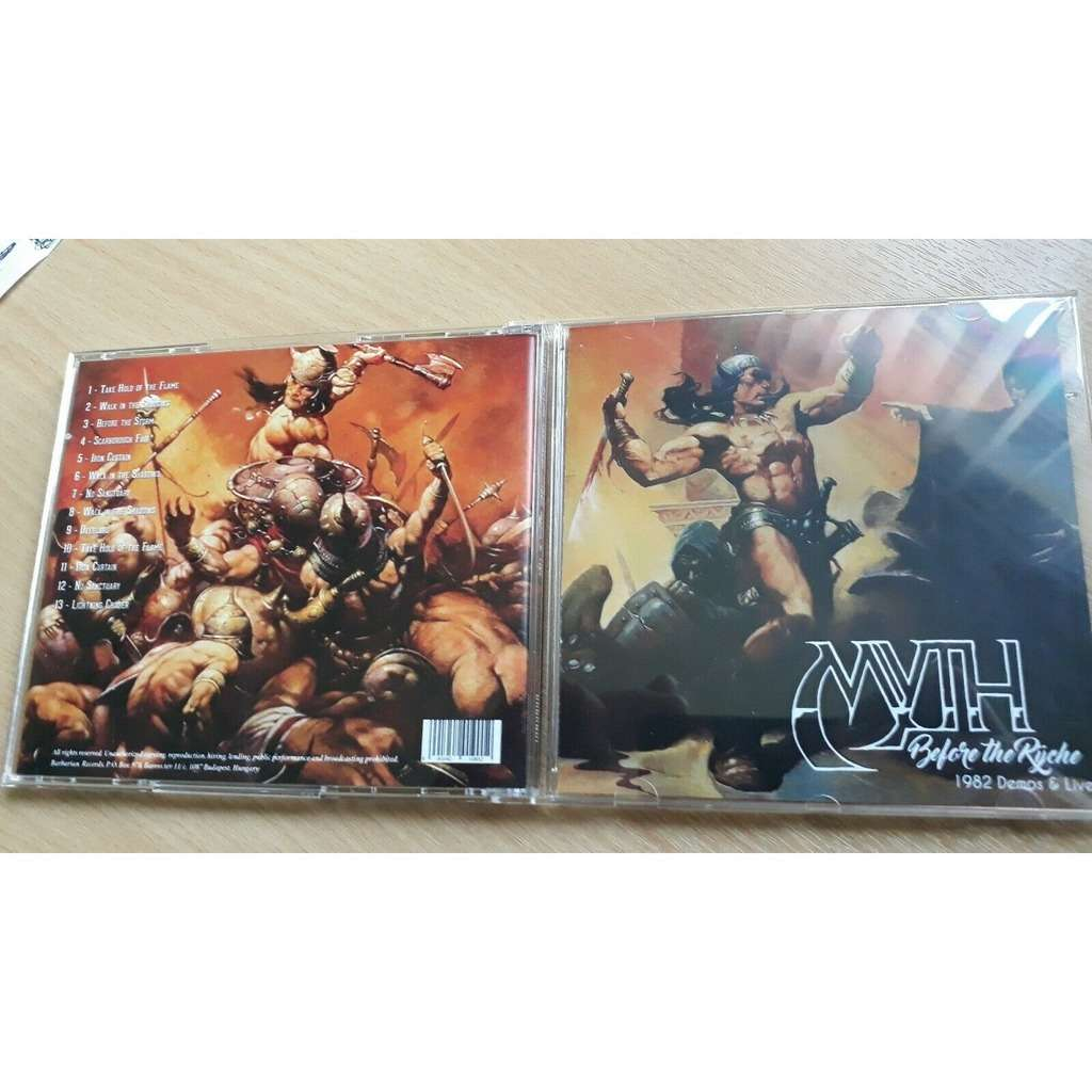 MYTH Before the Ryche-Demos/Live 82