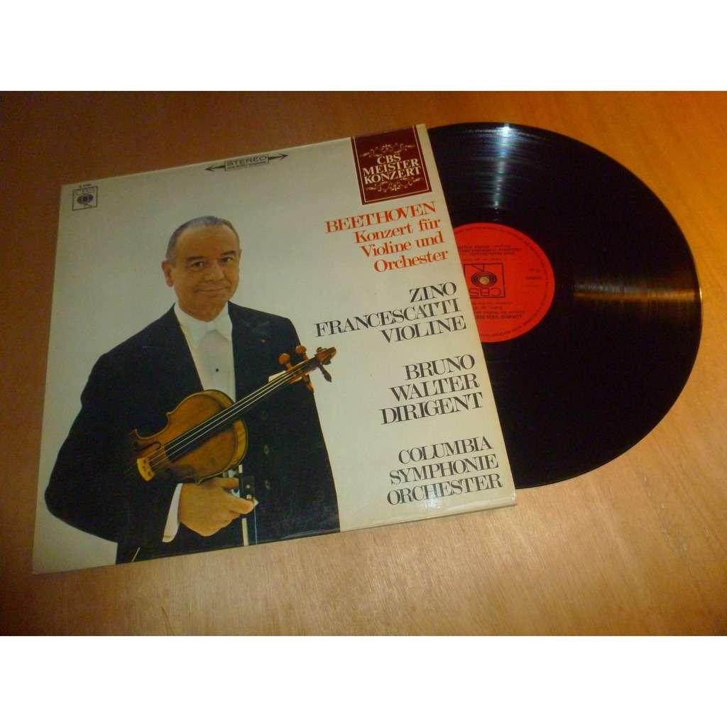 bruno walter - zino francescatti Beethoven : konzert fur violine und orchester