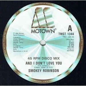 smokey robinson and i don't love you