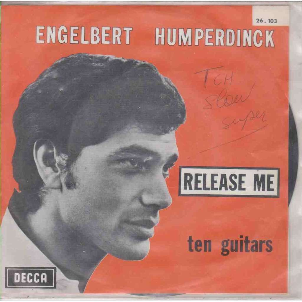 ENGLEBERT HUMPERDINCK realease Me / ten Guitars