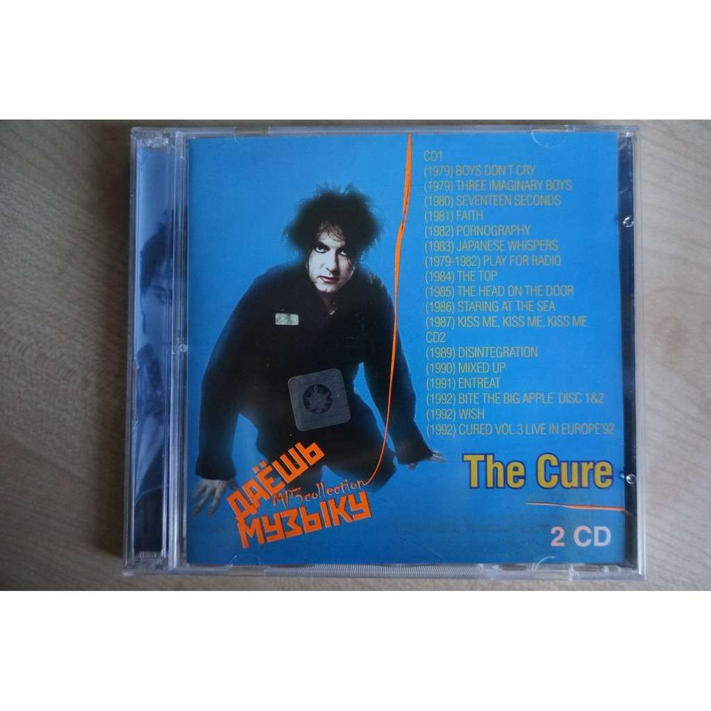 The Cure MP3 Collection 2 CD