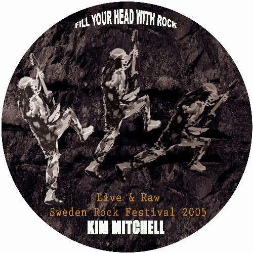 Kim Mitchell / Max Webster Live & Raw (Euro 2007 Ltd 4-trk live 10ep Picture Disc)