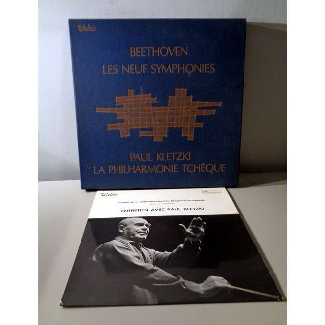 PAUL KLETZKI BEETHOVEN Complete symphonies + Musical approach of the works