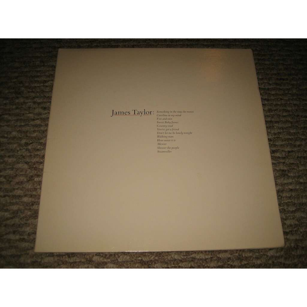 James Taylor James Taylor's Greatest Hits
