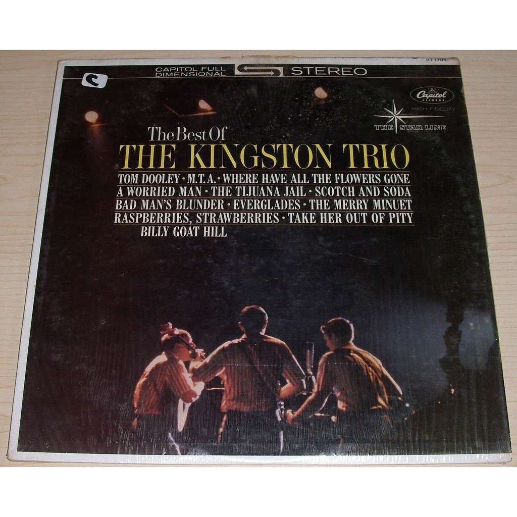 The Kingston Trio The Best of the Kingston Trio
