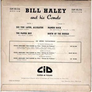 BILL HALEY AND HIS COMETS SEE YOU LATER ,ALLIGATOR