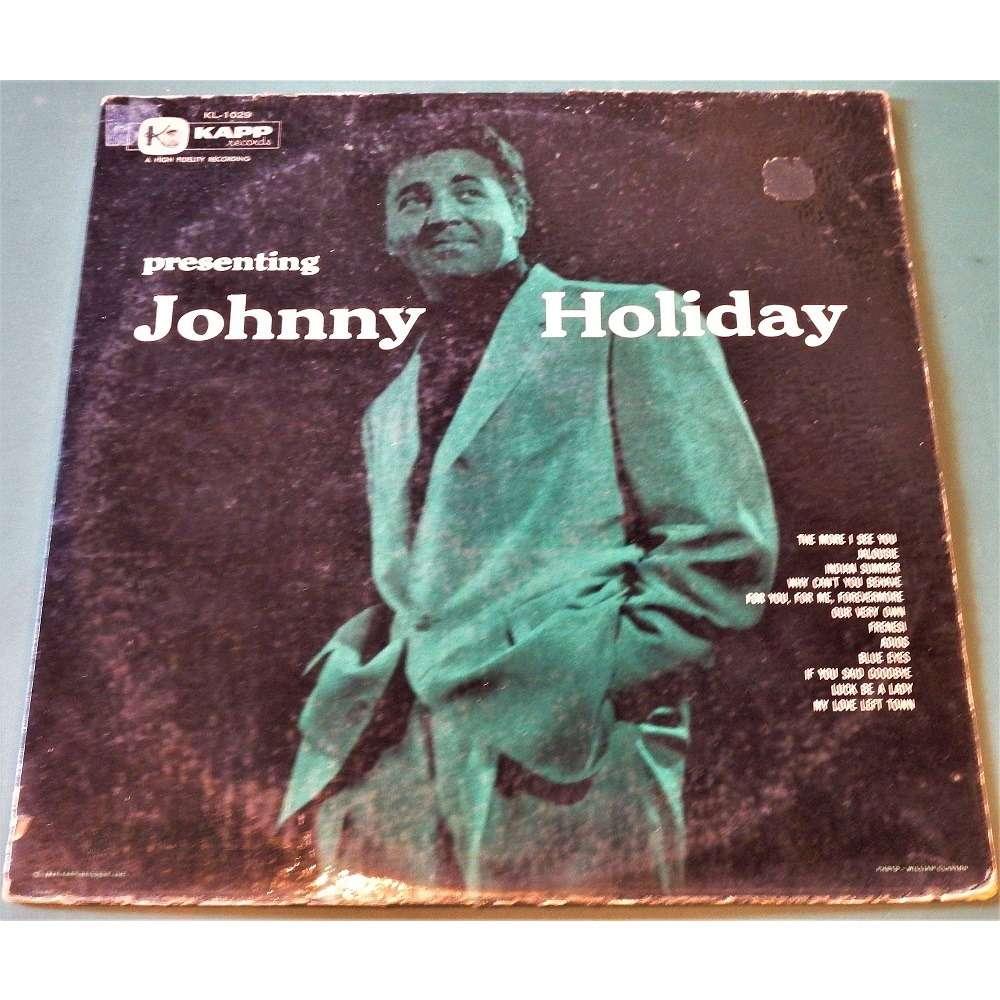 JOHNNY HOLIDAY Presenting JOHNNY HOLIDAY