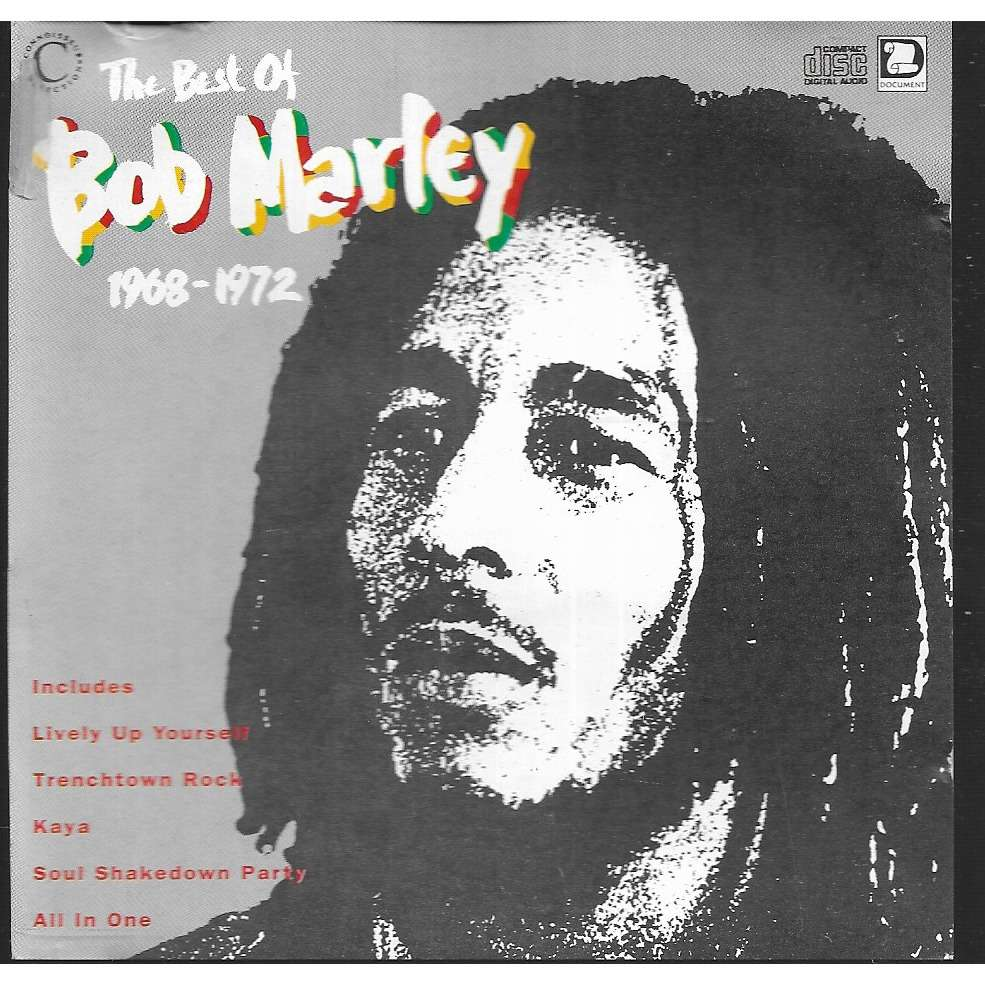 Bob Marley Best of 1968-1972 (14 tracks, UK)