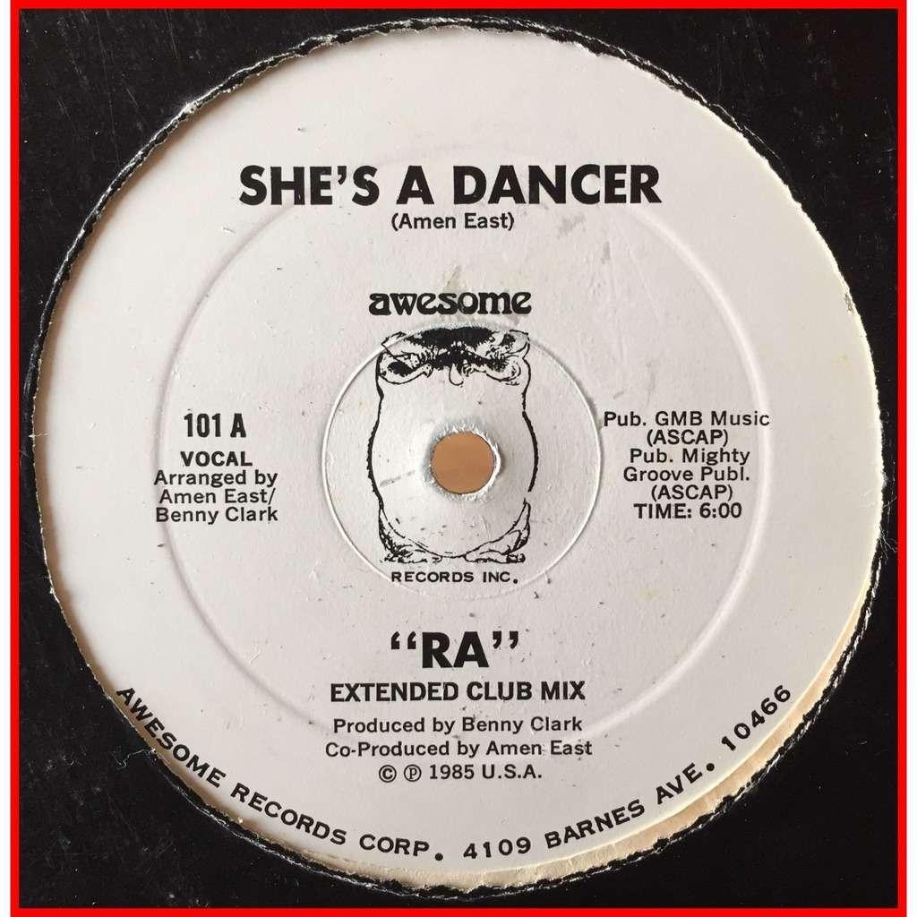 RA (2) - She's A Dancer RA (2) - She's A Dancer promo