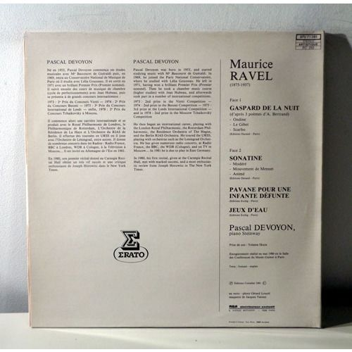 PASCAL DEVOYON RAVEL piano récital