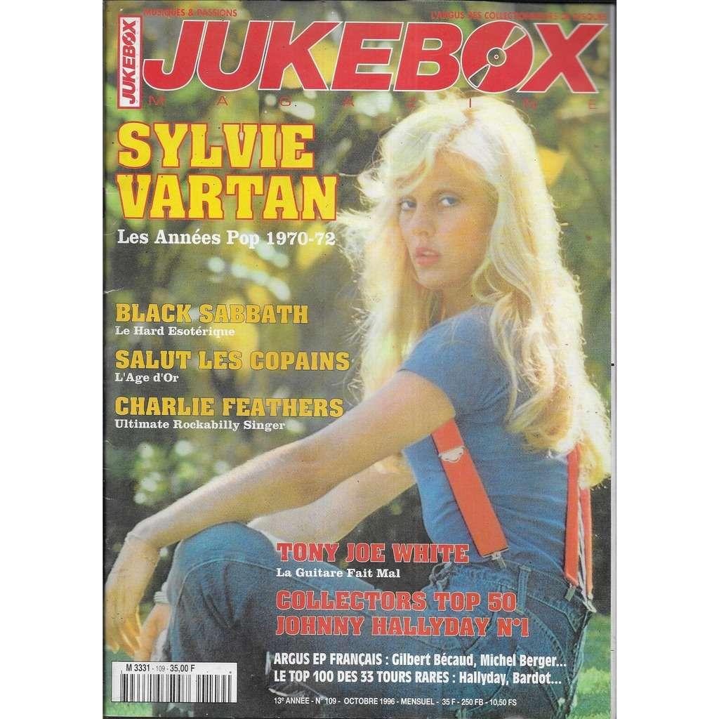 JUKEBOX n° 106 (octobtre 1996) Sylvie Vartan
