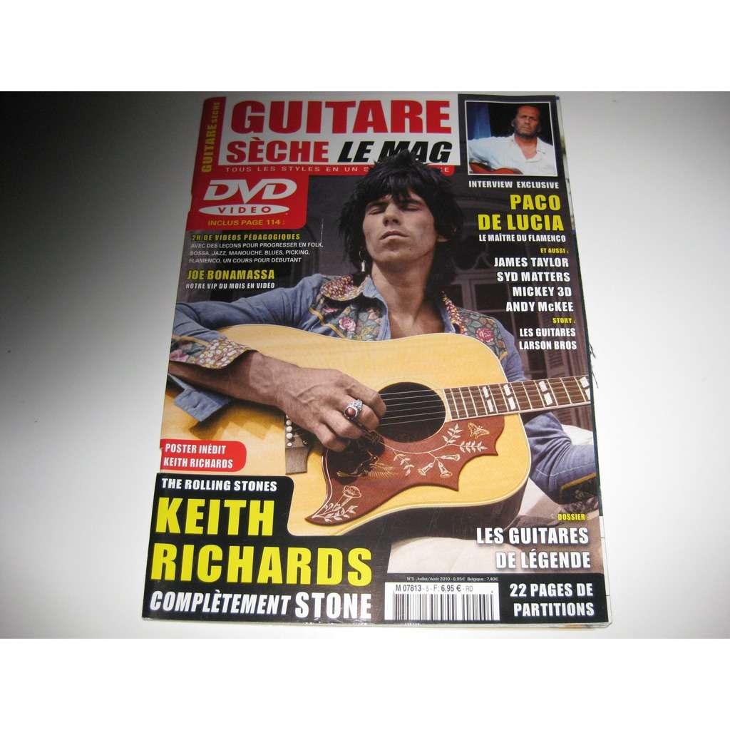 keith richards guitare seche