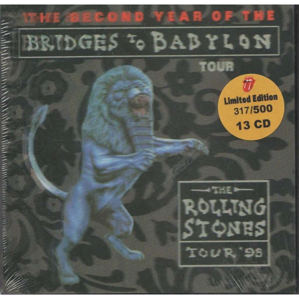 Rolling Stones Bridges To babylon Tour '98 (Ltd 500 no'd copies live 13CD Box + booklet!!)