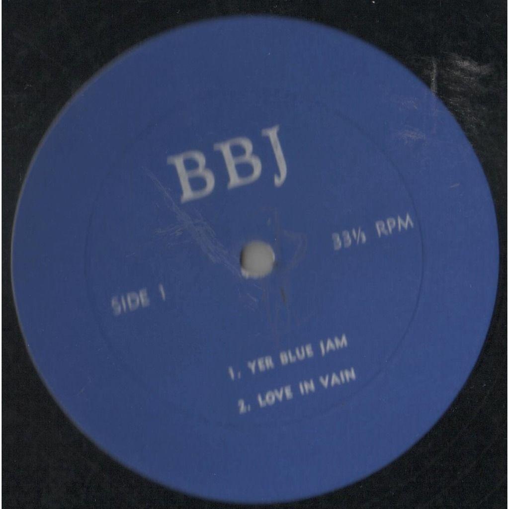 Beatles / John Lennon / The Rolling Stones British Blue Jam (USA early 70s original live Lp on CBM-BBJ lbl unique insert ps!)