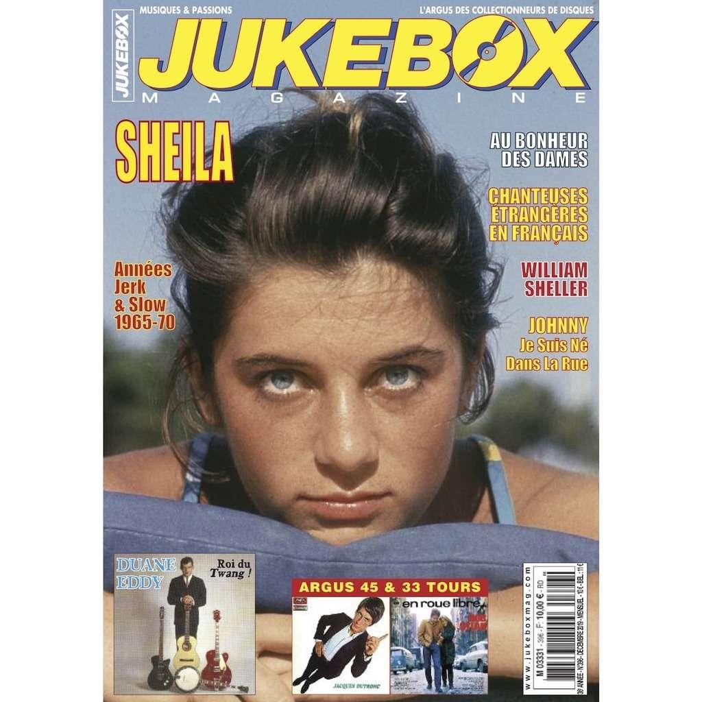 N°396 (DECEMBRE 2019) SHEILA MAGAZINE - JUKEBOXMAG.COM