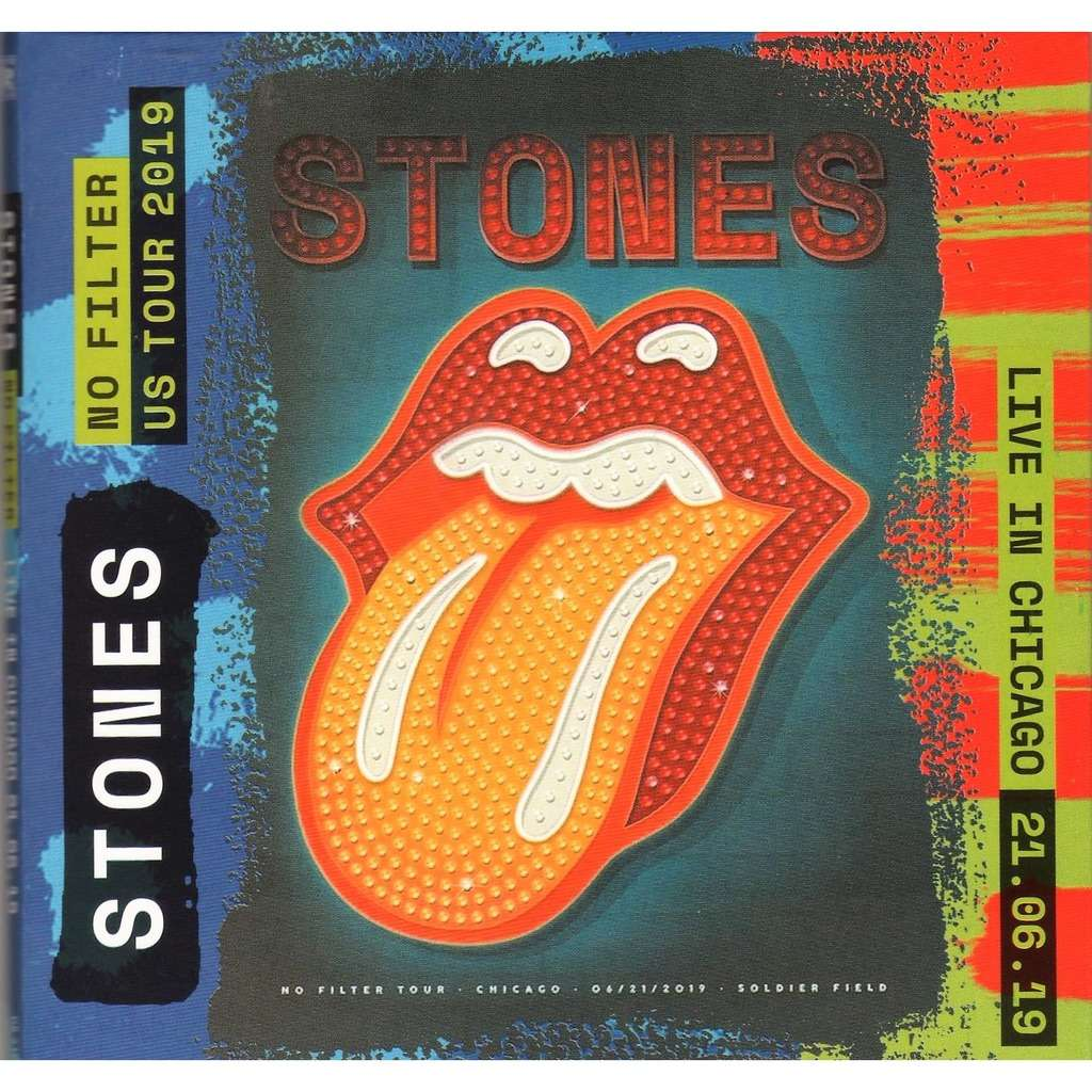 Rolling Stones No Filter US Tour 2019 (Chicago Soldier Field 21.06.2019 etc.)